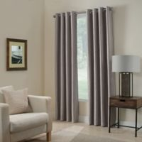 Paradise 63-Inch Room Darkening Window Curtain Panel in Stone