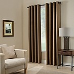 Paradise 84-Inch Room Darkening Grommet Top Window Curtain Panel in Mocha