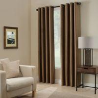 Paradise 63-Inch Room Darkening Window Curtain Panel in Mocha