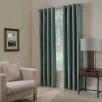 Paradise 95-Inch Room Darkening Window Curtain Panel in Spa