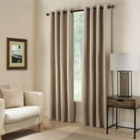 Paradise 63-Inch Room Darkening Window Curtain Panel in Flax