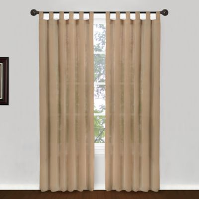 Buy Tab Top Curtains From Bed Bath Beyond