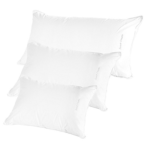 The pillow barr down quotsweet dreamsquot side sleeper pillow for Best pillow for side sleepers bed bath and beyond