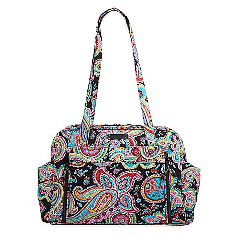 vera bradley stroll around baby bag in parisian paisley buybuy baby. Black Bedroom Furniture Sets. Home Design Ideas
