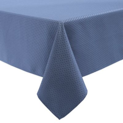 McKenna 70 Inch X 120 Inch Oblong Tablecloth In Blue