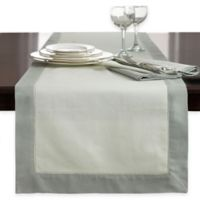 Wamsutta® Bordered Linen 72-Inch Table Runner in Sage