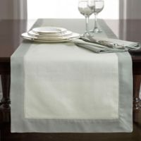 Wamsutta® Bordered Linen 90-Inch Table Runner in Sage