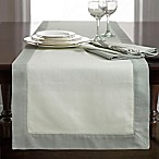 Wamsutta® Bordered Linen 108-Inch Table Runner in Sage