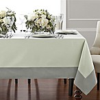 Wamsutta® Bordered Linen 70-Inch x 90-Inch Oblong Tablecloth in Sage