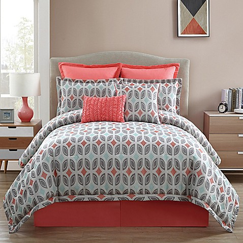 clairebella bermuda comforter set in taupe bed bath amp beyond