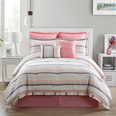 Clairebella Baja Comforter Set in Cream
