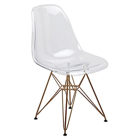 American Atelier Banks Chair With Gold Legs Bed Bath Beyond