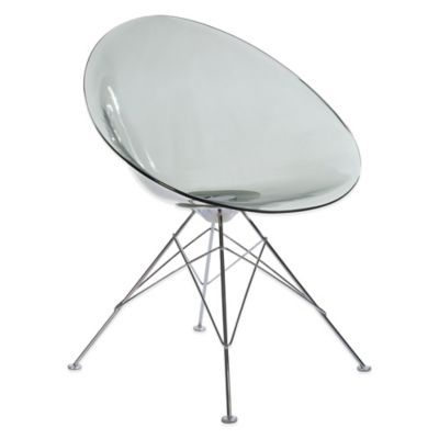 Charmant American Atelier Chelsea Chair In Clear Grey