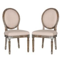 Safavieh Holloway Oval Dining Side Chairs (Set of 2)