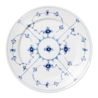 Royal Copenhagen Fluted Plain Dinner Plate in Blue