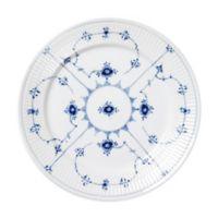 Royal Copenhagen Fluted Plain Dessert Plate in Blue