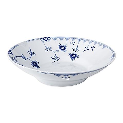 buy royal copenhagen elements pasta bowl in blue from bed. Black Bedroom Furniture Sets. Home Design Ideas