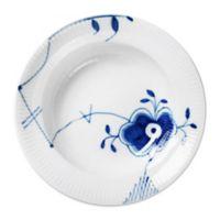 Royal Copenhagen Fluted Mega 8.25-Inch Rim Soup Bowl #6 in Blue