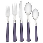 Noritake® Colorwave 20-Piece Flatware Set in Plum