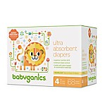 Babyganics® 68-Count Size 4 Ultra Absorbent Diapers