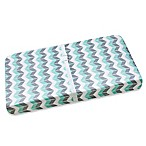 Wendy Bellissimo™ Mix & Match Chevron Print Changing Pad Cover in Grey/Teal