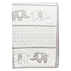 Wendy Bellissimo™ Mix & Match Elephant Quilt in Grey