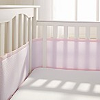Breathable Baby® Deluxe Breathable Mesh Crib Liner in Pink