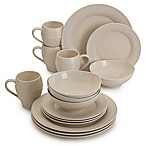 Mikasa® Swirl 16-Piece Dinnerware Set in Cream
