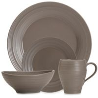 Mikasa® Swirl 4-Piece Place Setting in Mocha