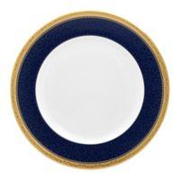 Noritake® Odessa Cobalt Dinner Plate in Gold