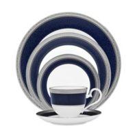 Noritake® Odessa Cobalt 5-Piece Place Setting in Platinum