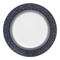 Noritake® Odessa Cobalt Accent Plate in Platinum