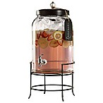 Style Setter Franklin 3-Gallon Beverage Dispenser with Stand