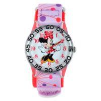 Disney® Minnie Mouse Children's 32mm Watch with Pink Strap