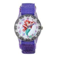 Disney® Ariel Children's 32mm Watch with Purple Strap