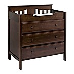 DaVinci Jayden 3-Drawer Changer Dresser in Espresso