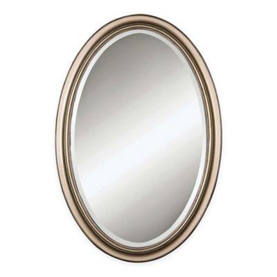 Uttermost Petite Manhattan Oval Mirror