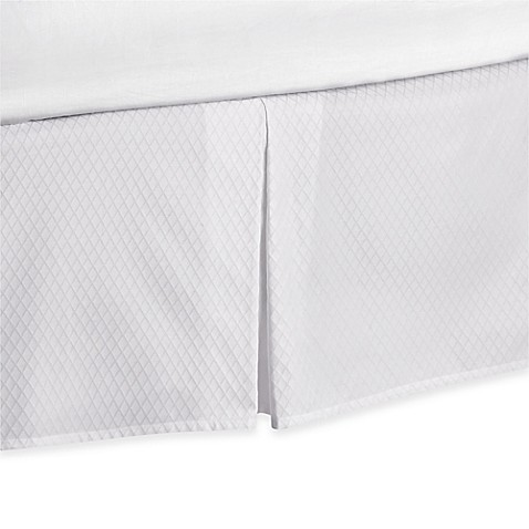 White Full Bed Skirt 119