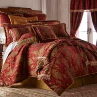 Sherry Kline China Art Queen Comforter Set in Red