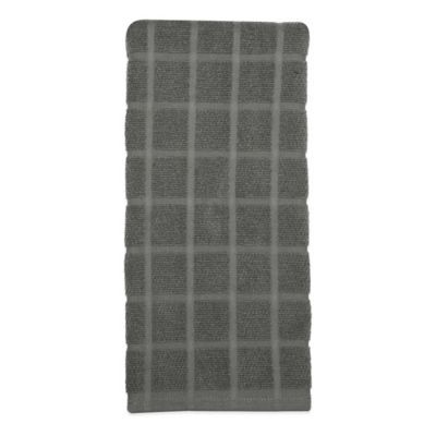Exceptionnel Kitchensmart® Solid Kitchen Towel In Mineral Grey