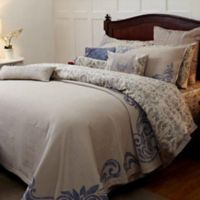 Royal Insignia King Coverlet Set in Blue