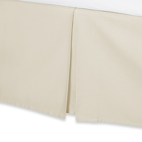 wamsutta® 400-thread-count cotton 15-inch drop bed skirt - bed