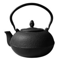 "Old Dutch International Unity® 3 Liter ""Hakone"" Teapot/Wood Stove Humidifier in Matte Black"