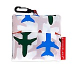 Kikkerland® Design Airplane Travel Laundry Bag in White