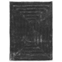 Linon Home Links Squared 8-Foot x 10-Foot Shag Area Rug in Charcoal