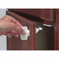 Kidco Magnet Lock with Key (Set of 4)