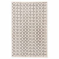 Jaipur Fables Trella 2-Foot x 3-Foot Area Rug in Ivory/Grey