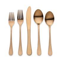 Herdmar® Portofino 5-Piece Flatware Place Setting in Matte Copper