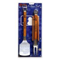 MLB New York Mets 3-Piece Sportula BBQ Set