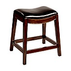 Hillsdale Furniture Kenton Wood 26-Inch Backless Counter Stool in Espresso